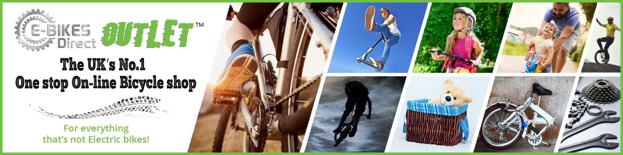 The UK's No.1 One stop On-Line Bicycle shop