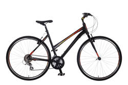 Claud Butler Urban 300 Ladies Hybrid Commuter Bike - 700c - Alloy Frame Thumbnail