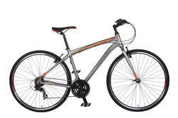 Claud Butler Urban 200 Mens Hybrid Commuter Bike - 700c - Alloy Frame Thumbnail