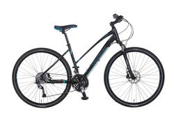 Claud Butler Explorer 300 Ladies Hybrid Bike - 700c - Alloy Frame Thumbnail