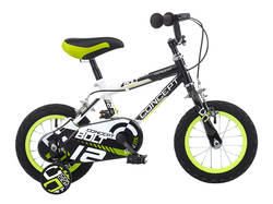 Concept Bolt Kids Boys ATB Bike with Stabilisers 1 Thumbnail