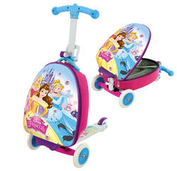 Disney Princess 3-in-1 Scooter with Luggage Case Thumbnail
