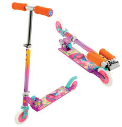 Trolls Poppy Girl's Folding In-Line Scooter 1 Thumbnail