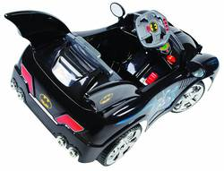 batman kids batmobile outdoor ride on electric car 6v battery operated 2 thumbnail