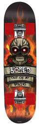 Bored Out of My Brains Kids Skateboard - PU Cast Wheels 1 Thumbnail