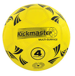 Kickmaster Multi Surface Ball, Rubber - Size 4 Official Thumbnail