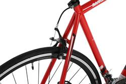 Barracuda Corvus Mens Road Racing Bike Red - 14 Speed, 700c 5 Thumbnail