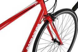 Barracuda Corvus Mens Road Racing Bike Red - 14 Speed, 700c 6 Thumbnail