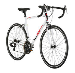 Barracuda Corvus Mens Road Racing Bike White - Alloy Frame - 14 Speed, 700c 1 Thumbnail