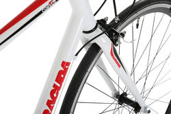Barracuda Corvus Mens Road Racing Bike White - Alloy Frame - 14 Speed, 700c 6 Thumbnail