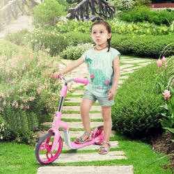 AEST Kids 2-In-1 Convertible Kick Scooter And Balance Bike - Steel Frame B02 3 Thumbnail