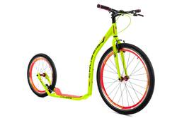 Crussis Urban 4.4 Kick Scooter Footbike Yellow - Alloy, 26