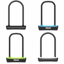 buy a nguard neon 292mm x 13mm d u bike bicycle shackle key lock 4 colours from e bikes direct. Black Bedroom Furniture Sets. Home Design Ideas