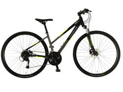 Claud Butler EXP 4.0 Low Step Ladies 9 Spd Explorer Hybrid Bike, Alloy Frame - 700c Thumbnail