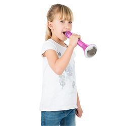 Mi-Mic Karaoke Microphone Speaker with Bluetooth and LED Lights - Pink 5 Thumbnail