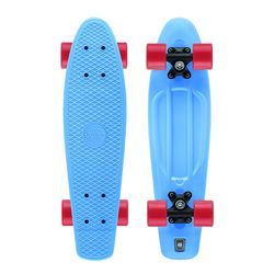Xootz Kids Skateboard Neon Blue