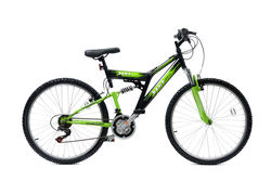 Basis 2 FS Mountain Bike Black Green