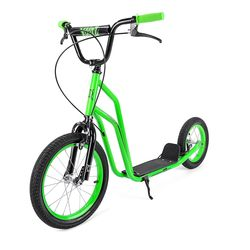 Xootz Kids BMX Stunt Scooter Green