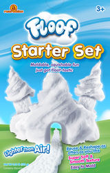 Floof! Starter Set in Box - Fluffy White Reusable Indoor Snow Modelling Clay, 120g 1 Thumbnail