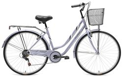 Tiger Vintage Traditional Ladies Heritage Trekking Bike, Lilac - 700c, 7 Speed Thumbnail