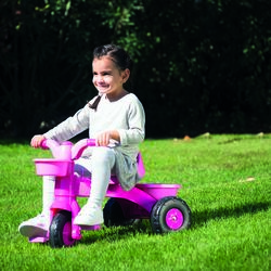 Dolu Toddler Girls My First Trike with Parent Handle, Pink - 2 Years + 1 Thumbnail