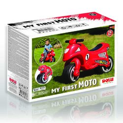 Dolu Toddler Kids My First Moto Ride On Motorcycle, Red - 2 Years+ 3 Thumbnail