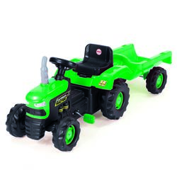 Dolu Tractor Pedal Ride On Green