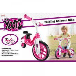 157271b7aff Xootz Toddler Kids Girls Folding Training Balance Bike - Pink 2 Thumbnail