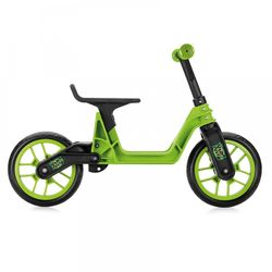 145e225f899 Xootz Toddler Kids Boys Folding Training Balance Bike - Green 1 Thumbnail