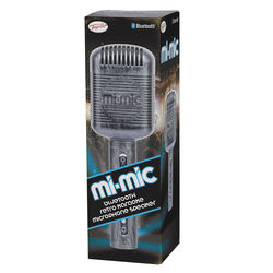 Mi-Mic Retro Wireless Bluetooth Portable Microphone Speaker with Stand - 1200mAh 1 Thumbnail