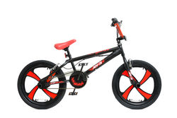 XN-3-20 BMX Bike Black/Red