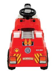 Paw Patrol Marshall S Kids Bubble Blowin Fire Truck Ride On 6v Battery Powered
