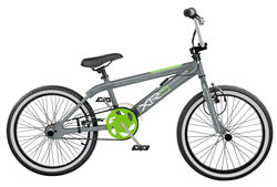 2019 Rooster XR6 Kids Freestyler Gyro BMX Bike, Grey/Green - 20