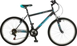 Falcon Odyssey Hardtail Mountain Bike - Black/Blue Thumbnail