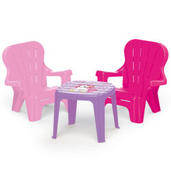 Dolu Unicorn Table And 2 Chairs Set