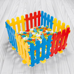 Dolu Multi Colour Playing Fence