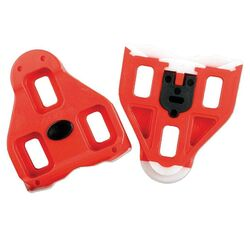 Look Delta Road Bike Pedal Cleats - Red