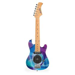 AOM Electric Guitar Purple Swirls