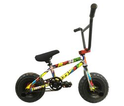 1080 Stunt Freestyle Mini BMX Bike - Ltd Ed Colour Cartoon Graphic Thumbnail