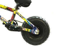 1080 Stunt Freestyle Mini BMX Bike - Ltd Ed Colour Cartoon Graphic 6 Thumbnail