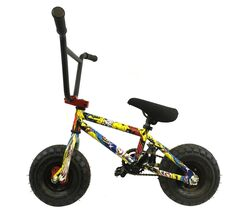 1080 Stunt Freestyle Mini BMX Bike - Ltd Ed Colour Cartoon Graphic 1 Thumbnail