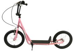 1080 Adults Teens Push Kick Scooter, Pink - 16
