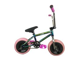 1080 Mini Freestyle BMX - Jet Fuel/Chrome/Pink Thumbnail