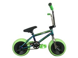 1080 Mini Freestyle BMX - Jet Fuel/Chrome/Green Thumbnail