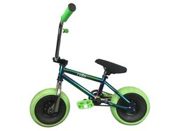 1080 Mini Freestyle BMX - Jet Fuel/Chrome/Green 3 Thumbnail