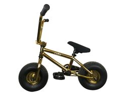 1080 Mini Freestyle BMX - Gold 3 Thumbnail