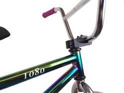 1080 Mini Freestyle BMX - Jet Fuel/Chrome/Pink 4 Thumbnail
