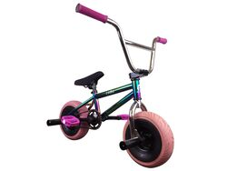 1080 Mini Freestyle BMX - Jet Fuel/Chrome/Pink 1 Thumbnail