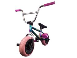 1080 Mini Freestyle BMX - Jet Fuel/Chrome/Pink 2 Thumbnail