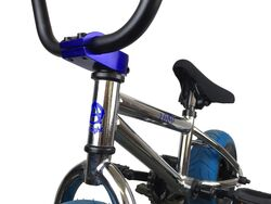 1080 Mini Freestyle BMX - Chrome & Blue 5 Thumbnail